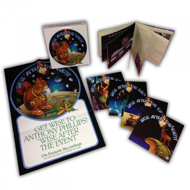 Wise After The Event 4 Disc Deluxe Box Set Anthony Phillips