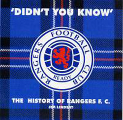 Jim Lindsay : Didn't You Know? – The History Of Rangers F.C.