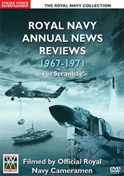 Royal Navy Annual News Reviews 1967-1971 Scranbag