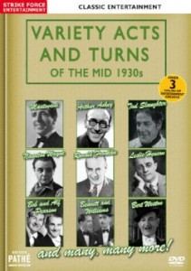 Variety Acts And Turns Of The Mid 1930s
