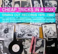 Cheap tricks in a box, Dining out records 1979-1982