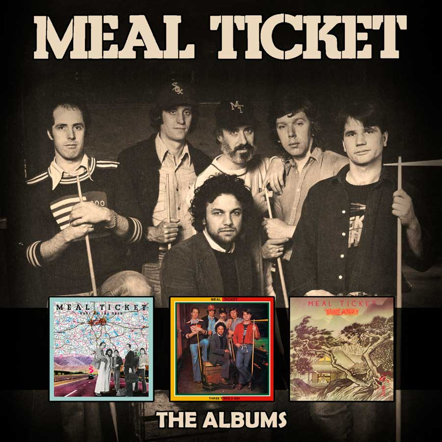 Meal Ticket: The Albums: 3CD Box Set