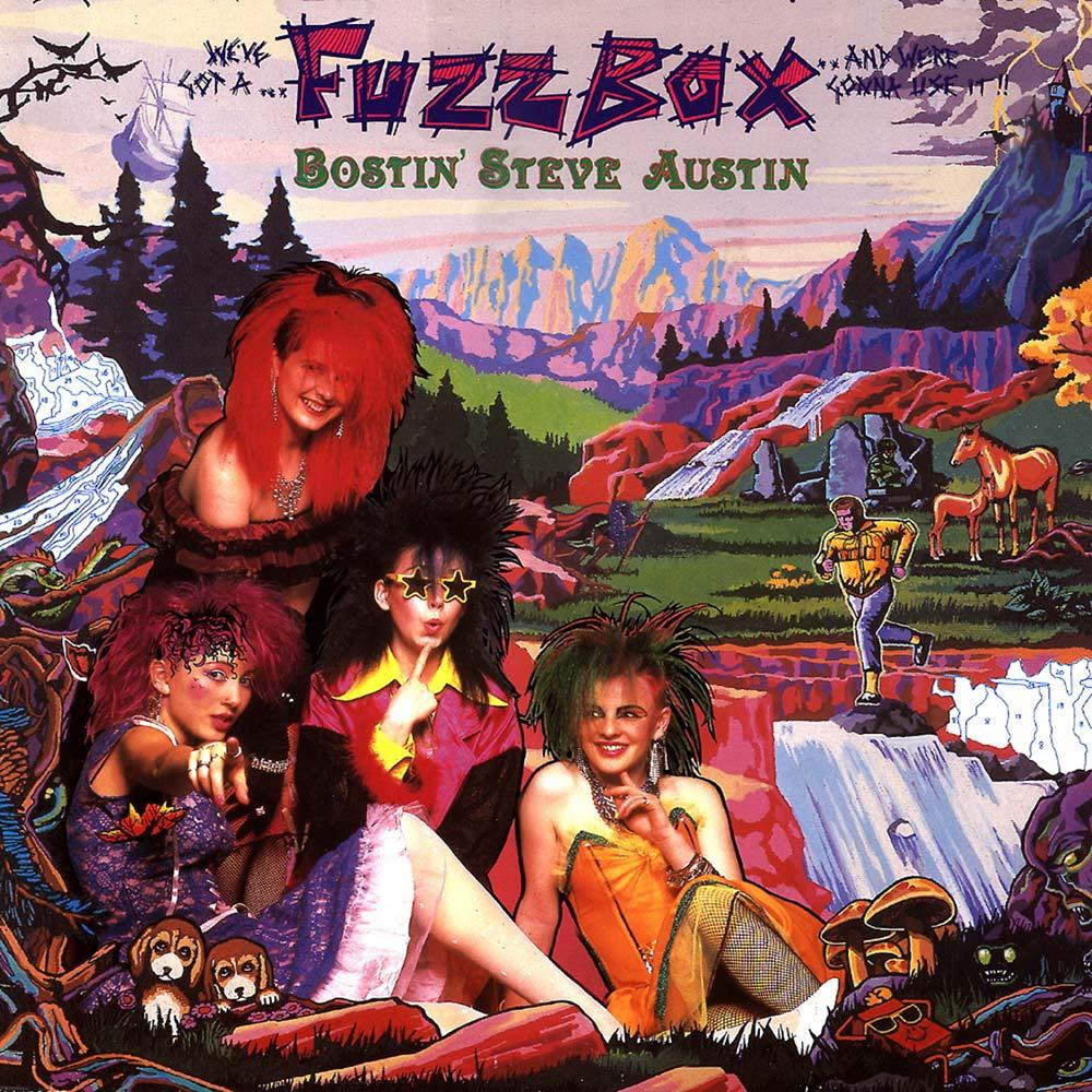 Bostin Steve Austin 2cd Cherry Red Records Fuzz Box Zoom Images