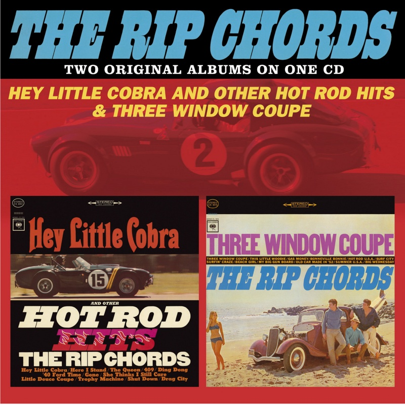 Hey Little Cobra And Other Hot Rod Hits / Three Window Coupe ...