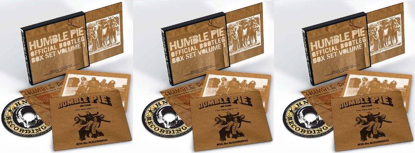 Humble Pie's  Official Bootleg Box Set Volume 1