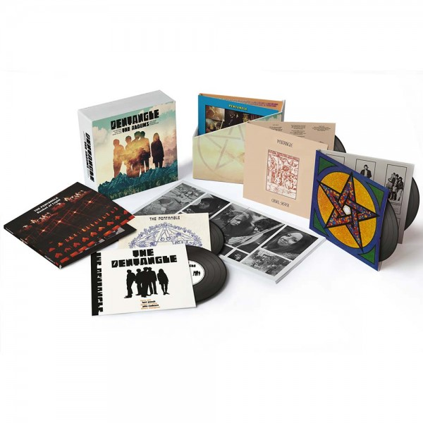 Pentangle The Albums 1968 1972 7cd Boxset Cherry Red