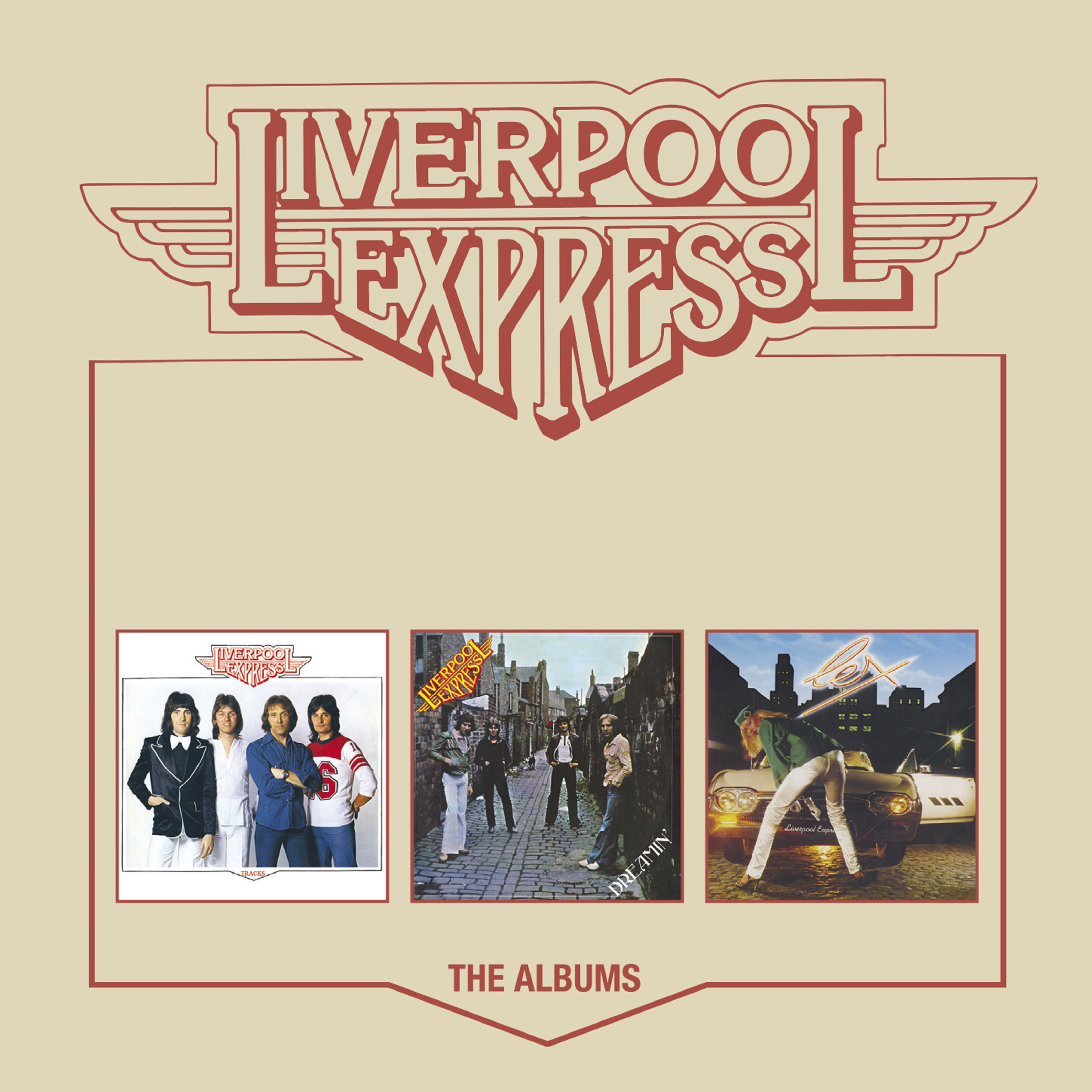 Liverpool Express - The Albums: 3CD Box Set - Cherry Red Records