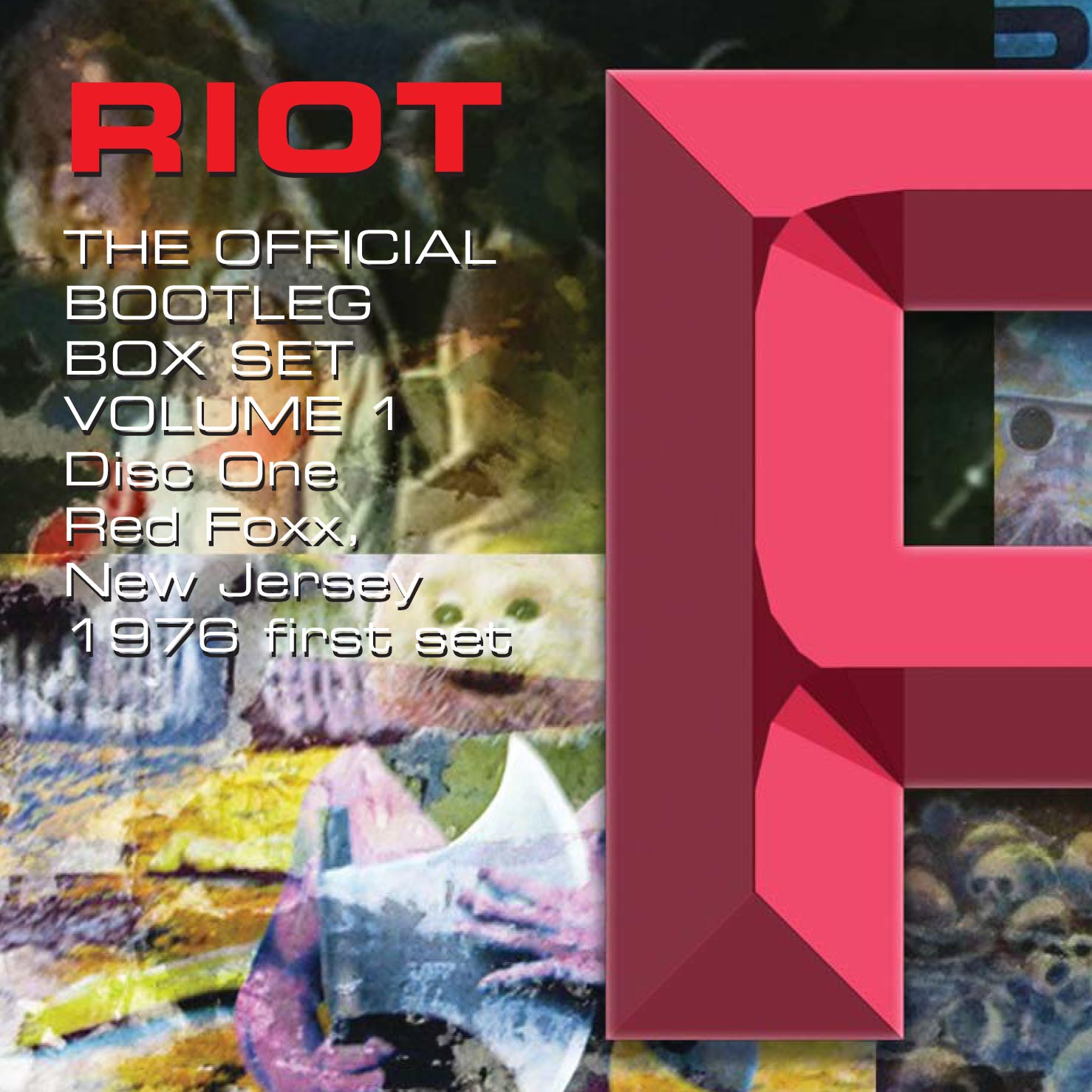 Riot - The Official Bootleg Box Set Volume 1 - 1976-1980: 6CD Box Set