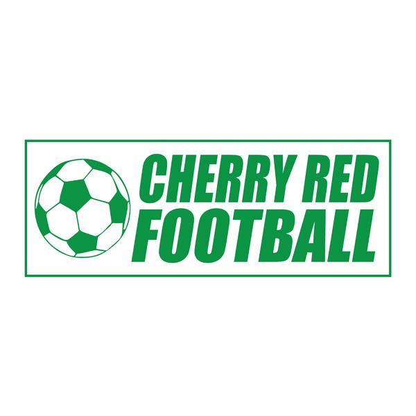 Cherry Red Football