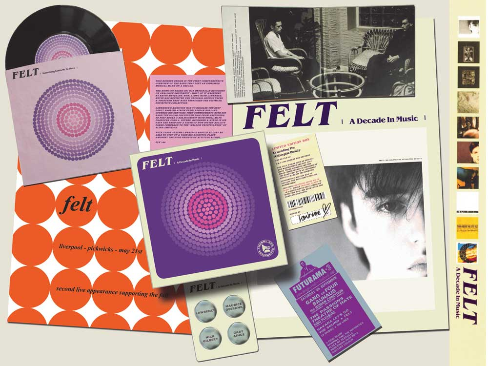 Felt - The Strange Idols Pattern And Other Short Stories / Ignite The Seven Cannons