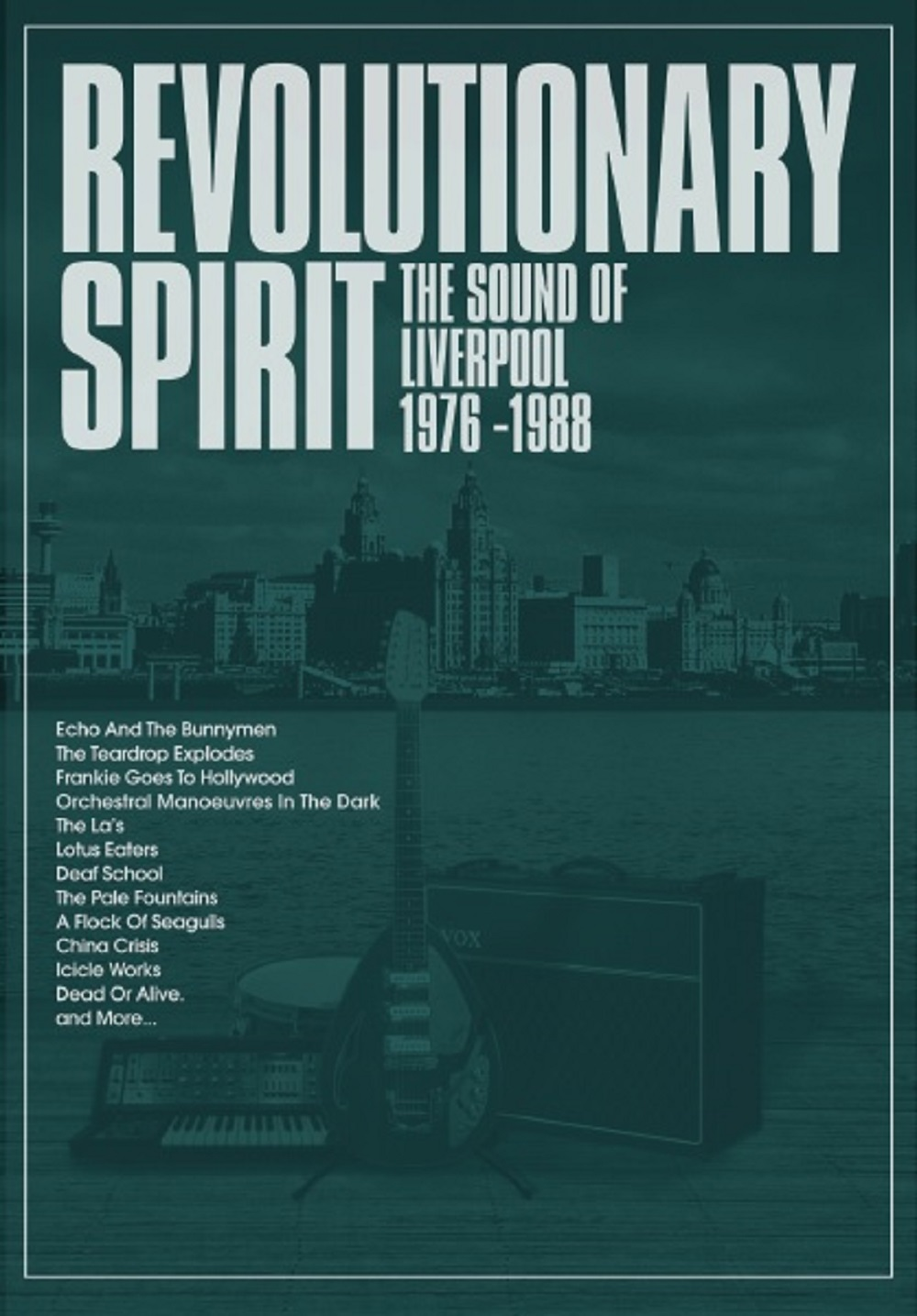 Revolutionary Spirit: The Sound Of Liverpool, 1976 - 1988, Various Artists,  5CD Deluxe Boxset