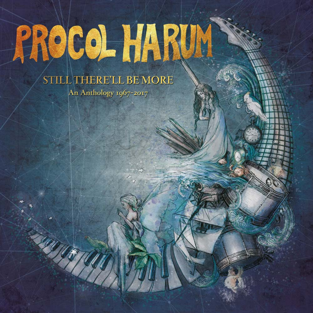 Procol Harum: Still There'll Be More - An Anthology 1967-2017 (8CD Box Set)