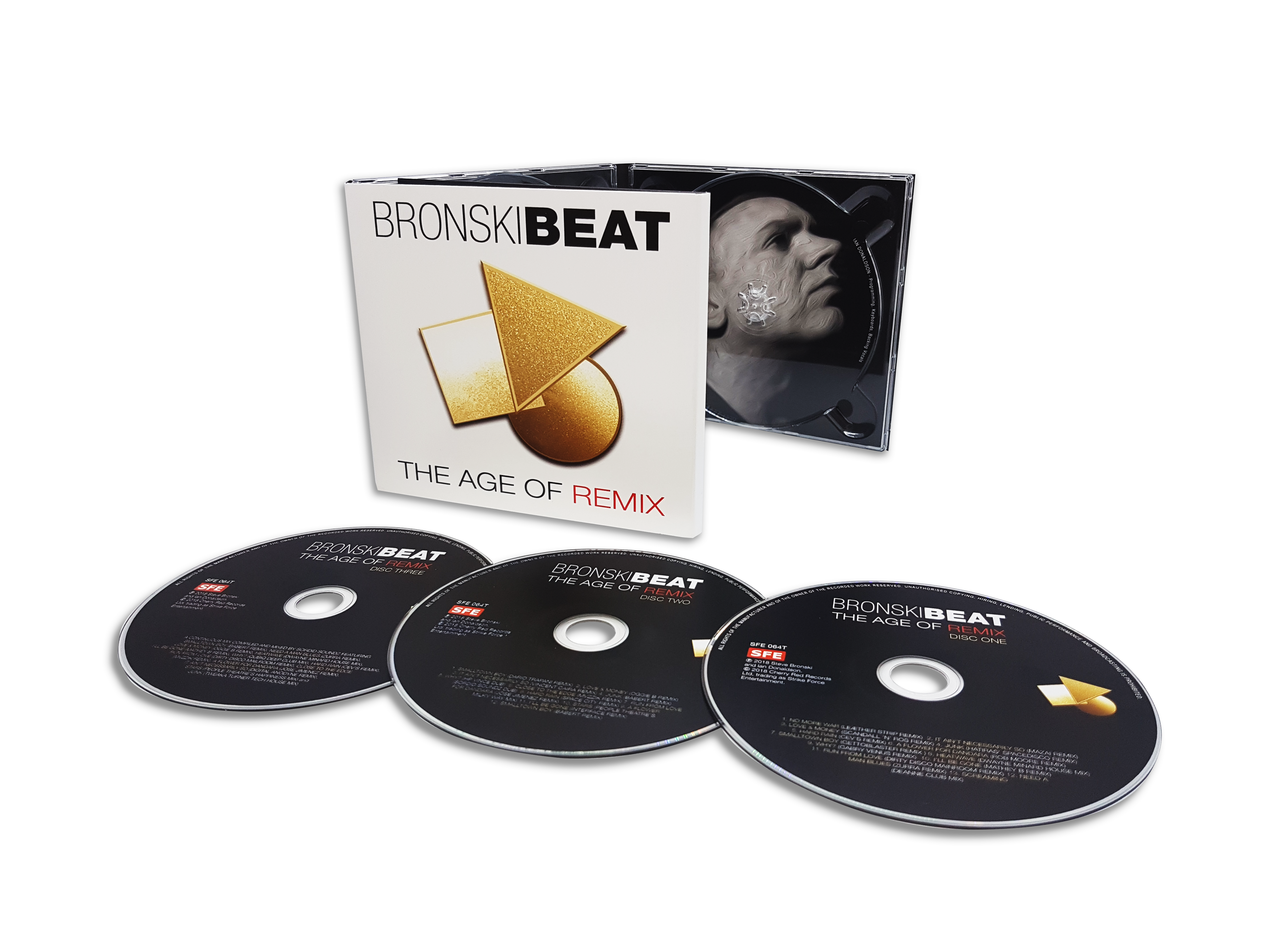 Bronski Beat: The Age Of Remix: 3CD Edition - Cherry Red Records