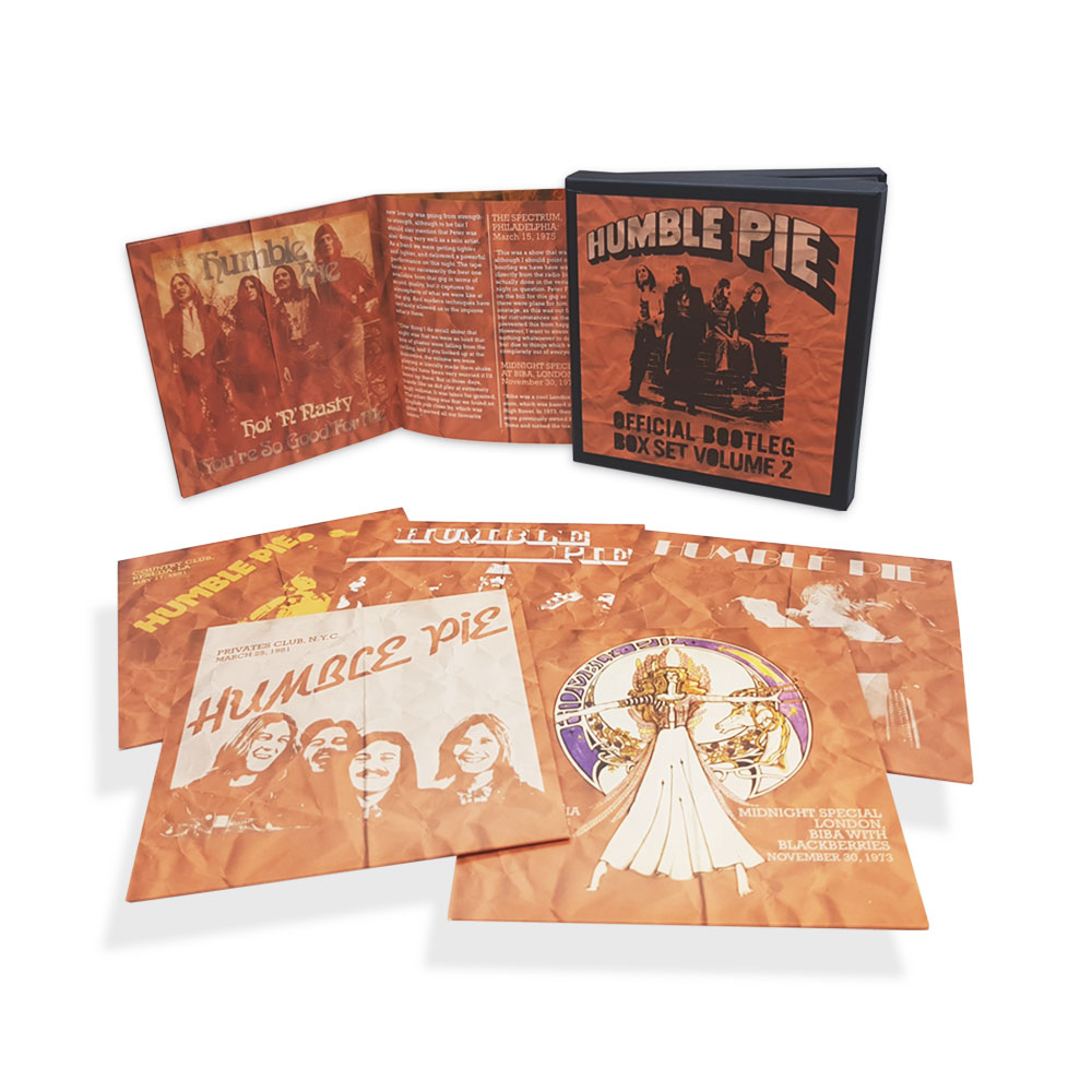 Humble Pie: Official Bootleg Box Set Volume 2, 5CD Boxset
