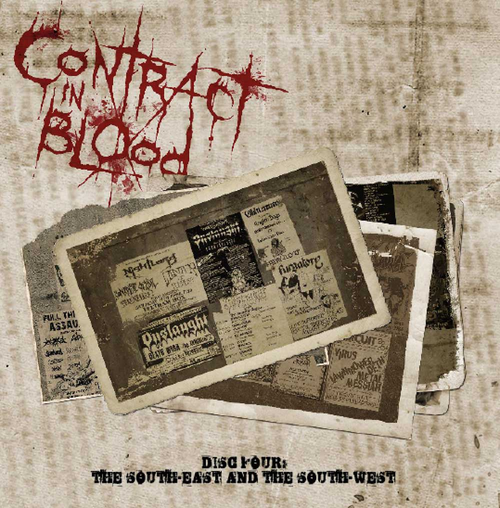 Contract In Blood: A History Of UK Thrash Metal, Various Artists, 5CD Boxset
