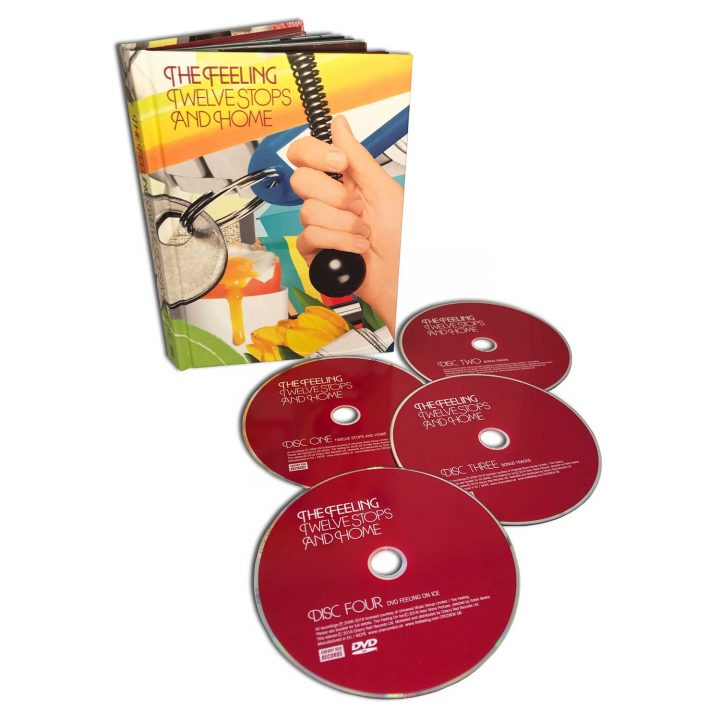 The Feeling: Twelve Stops And Home (3CD/1DVD Box Set)