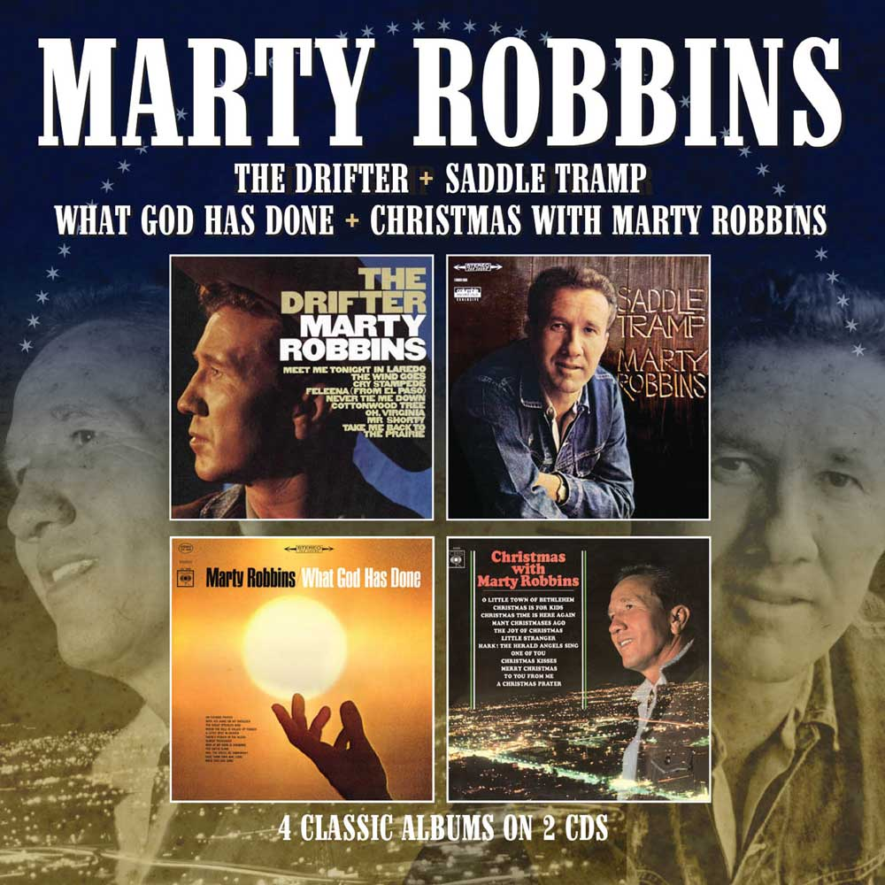 Marty Robbins: The Drifter / Saddle Tramp / What God Has Done ...