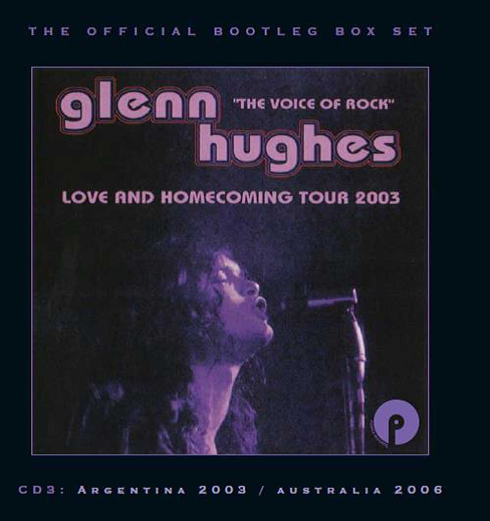 Glenn Hughes: The Official Bootleg Box Set: Volume One, 7CD Remastered  Boxset Edition