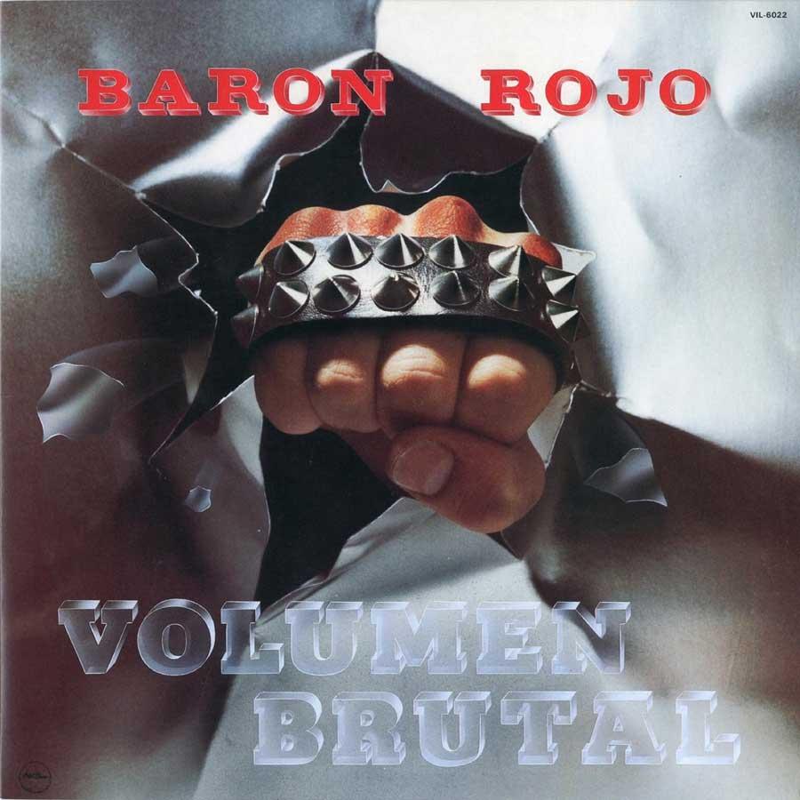 HEAVY METAL 80/85. Primera avanzadilla BARON-ROJO-Volumen