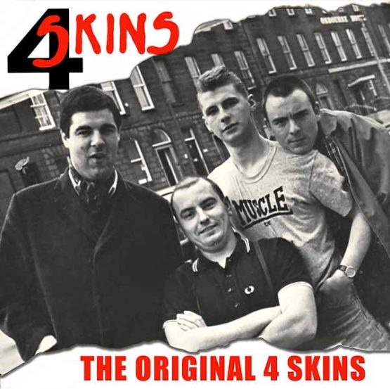The 4 Skins The Albums 4cd Clamshell Boxset Cherry Red