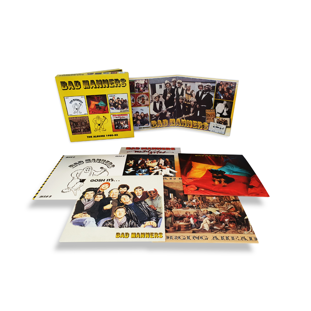 「ALBUMS 1980-85 BAD MANNERS」の画像検索結果