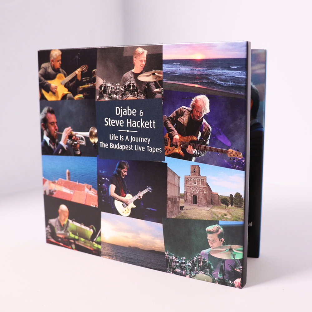 Djabe & Steve Hackett: Life Is A Journey, The Budapest Live Tapes, Three  Disc: 2CD/1DVD Set