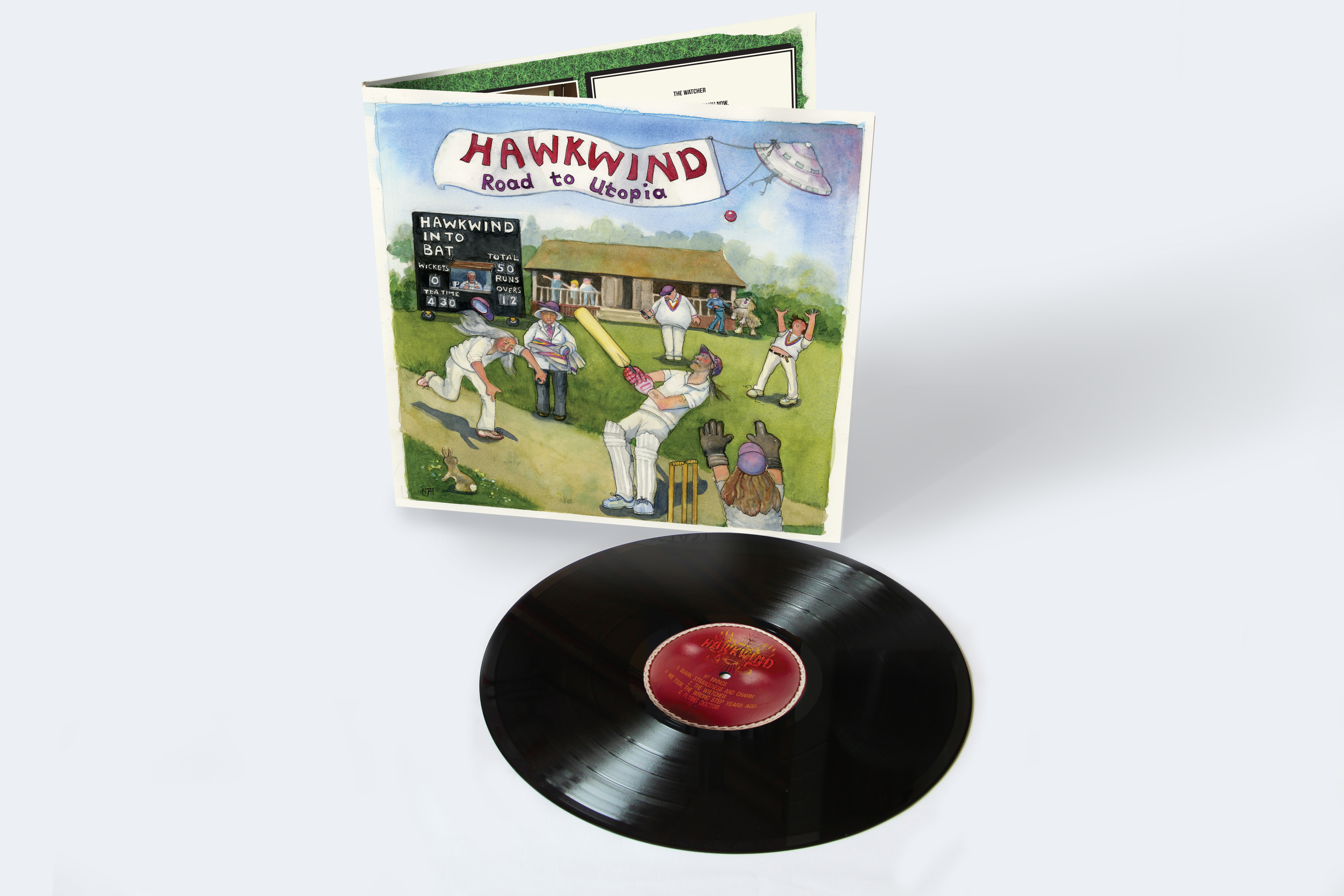 Hawkwind: Road To Utopia, Limited Edition Gatefold Vinyl - Cherry ...
