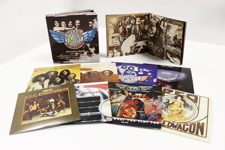 R E O Speedwagon: The Early Years 1971-1977, 8 Disc Clamshell Box Set