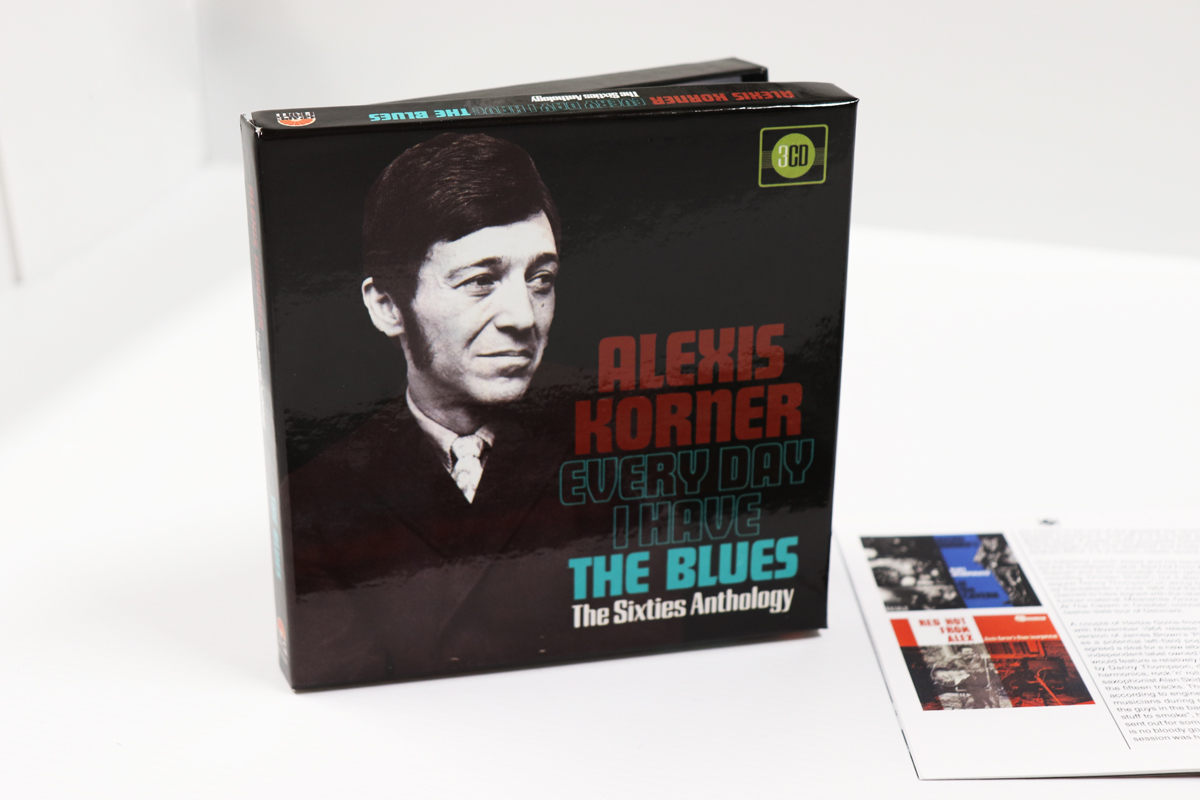 Alexis Korner: Every Day I Have The Blues, The Sixties Anthology, 3CD  Clamshell Boxset