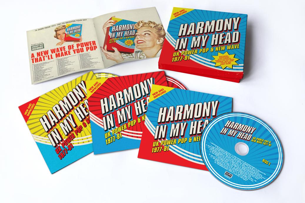 niesamowite ceny kup sprzedaż złapać Harmony In My Head: UK Power Pop & New Wave 1977-81 Various Artists, 3CD  Boxset