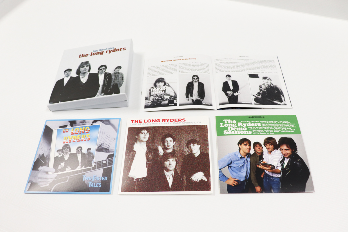 The Long Ryders: Two Fisted Tales, 3CD Boxset