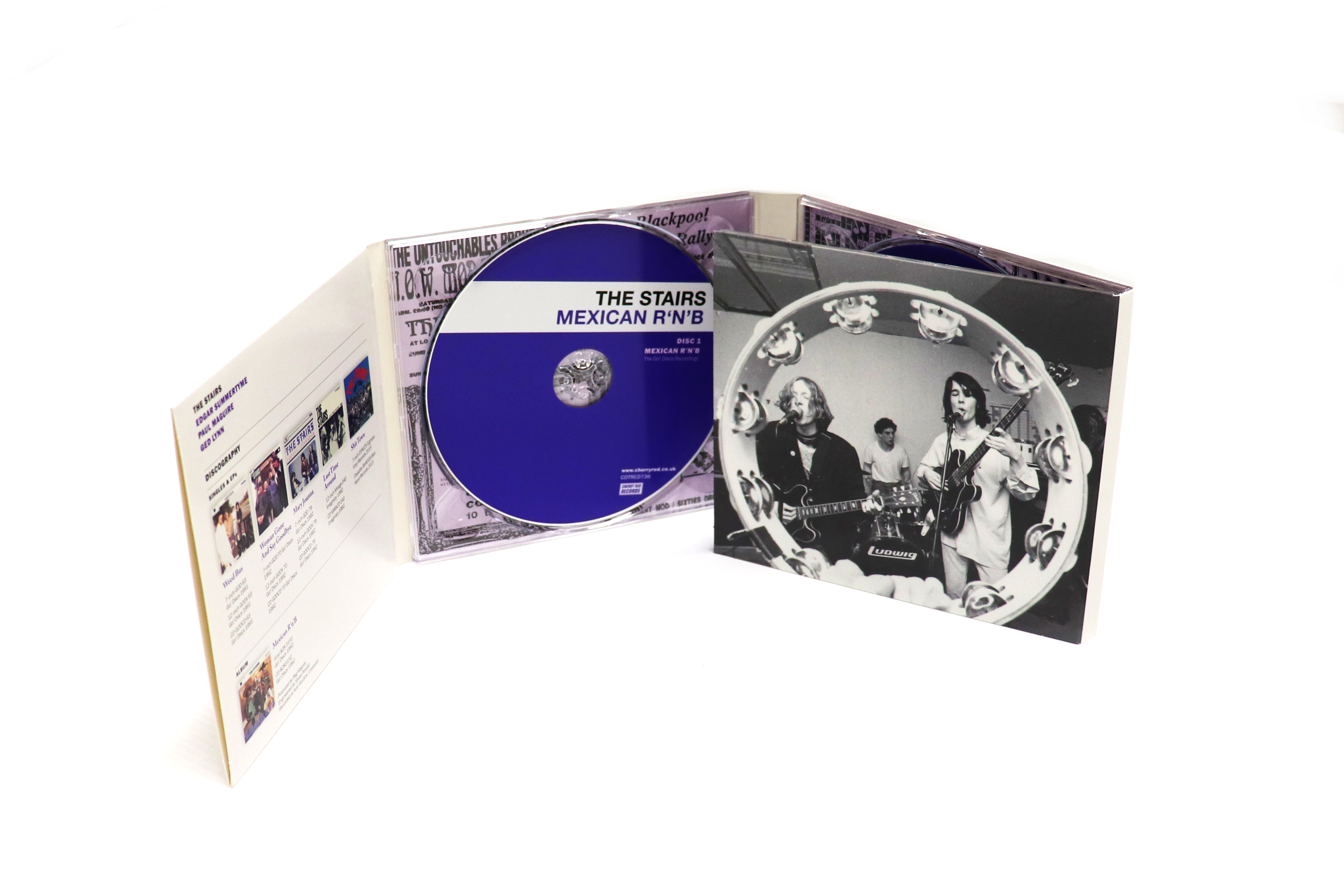 The Stairs: Mexican R'N'B, Deluxe Digipak Edition