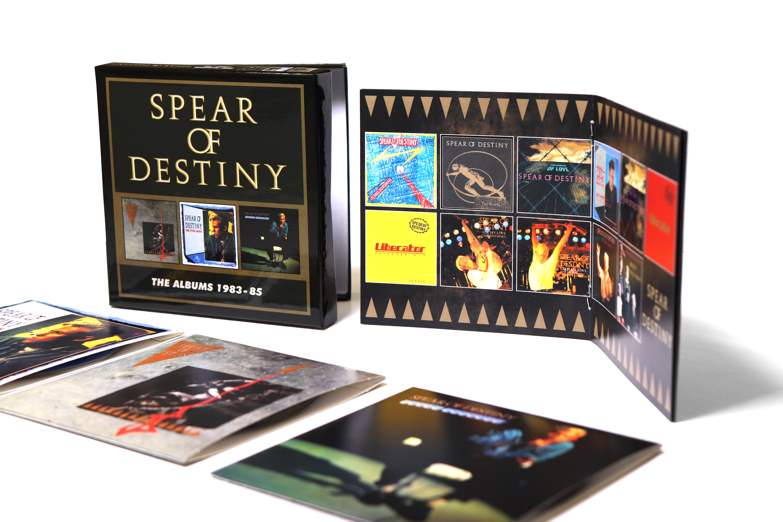 e4b940458a19 Spear of Destiny  The Albums 1983-85