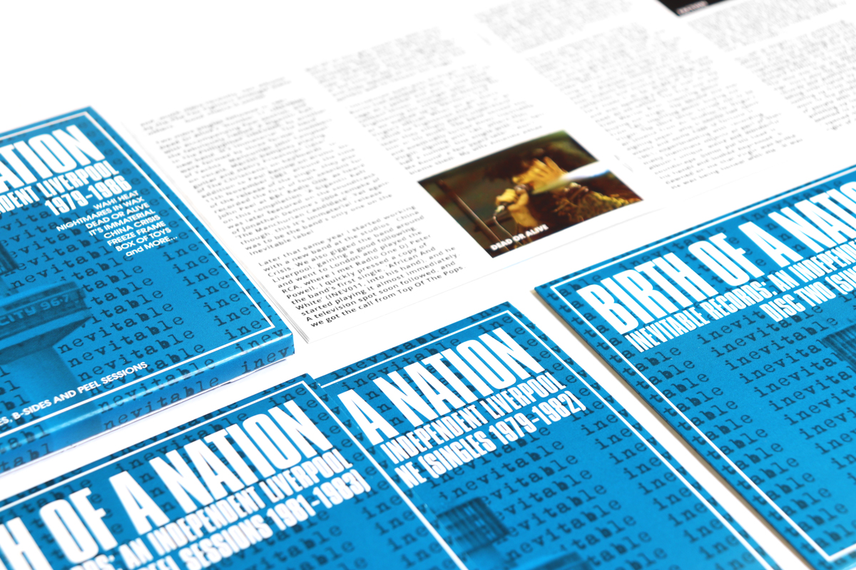 Birth Of A Nation: Inevitable Records - An Independent Liverpool 1979-1986,  Singles, B-Sides and Peel Sessions, 3CD