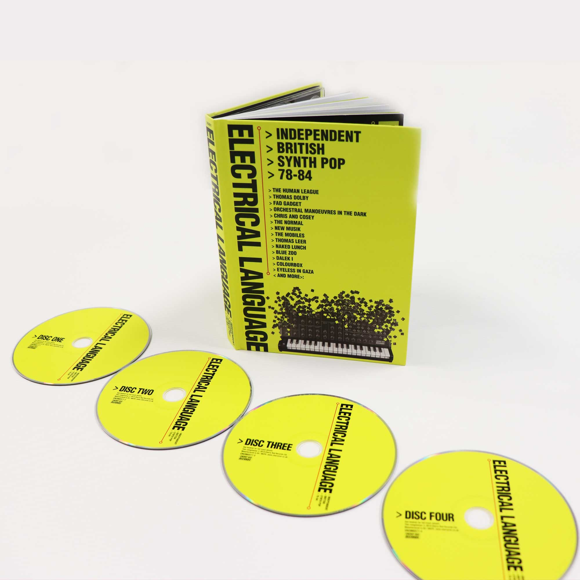 Electrical Language: Independent British Synth Pop 78-84, Various Artists,  4CD/48pp Bookpack