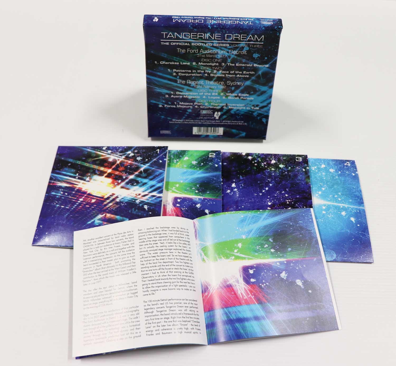 Tangerine Dream: The Official Bootleg Series Volume Three, 4CD Remastered  Boxset
