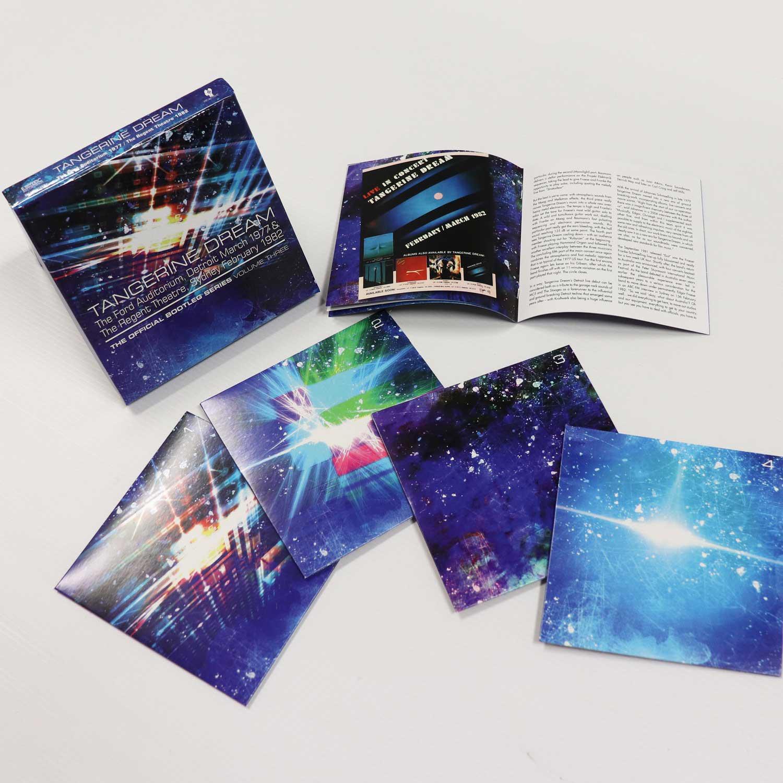 Tangerine Dream: The Official Bootleg Series Volume Three, 4CD Remastered  Boxset