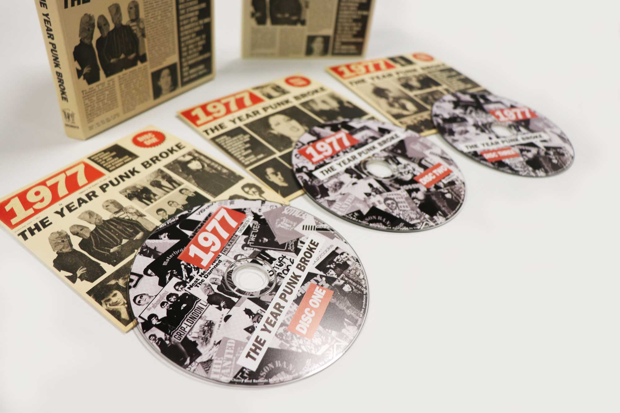 Rewind to 1977 with our new 3CD Box Set exploring the year