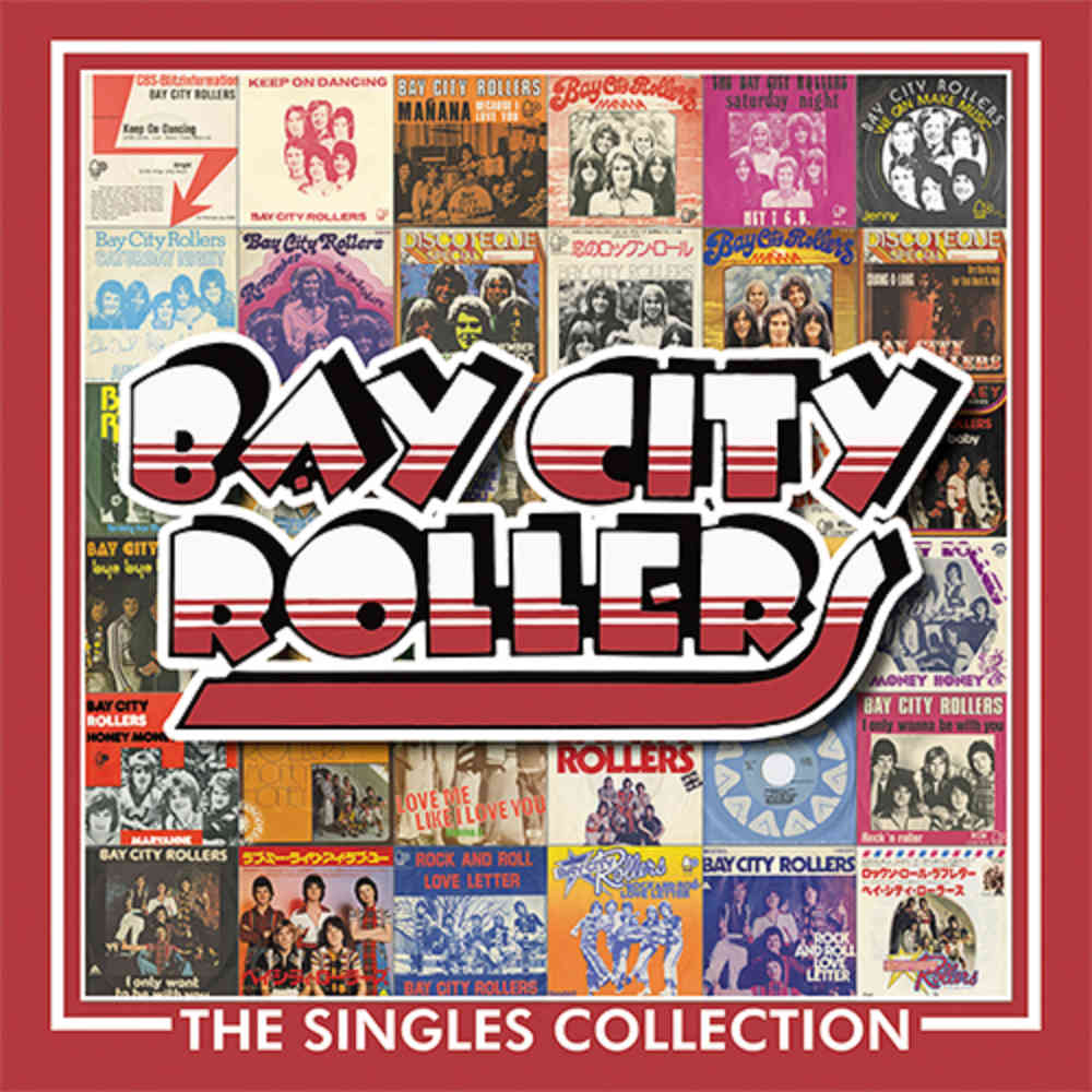 Bay City Rollers: The Singles Collection, 3CD Boxset