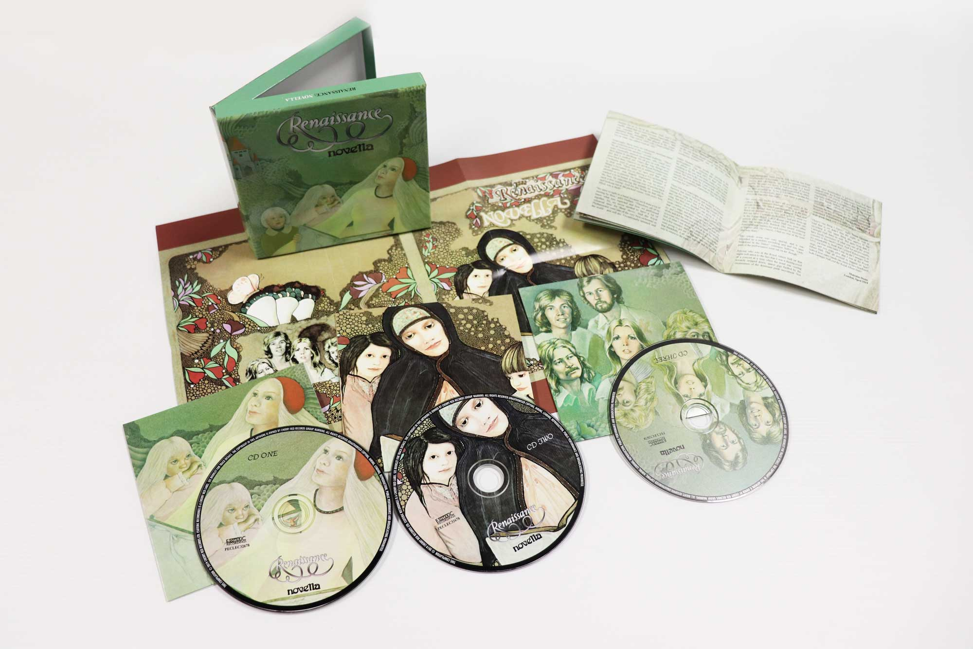 Renaissance: Novella, 3CD Remastered and Expanded Edition