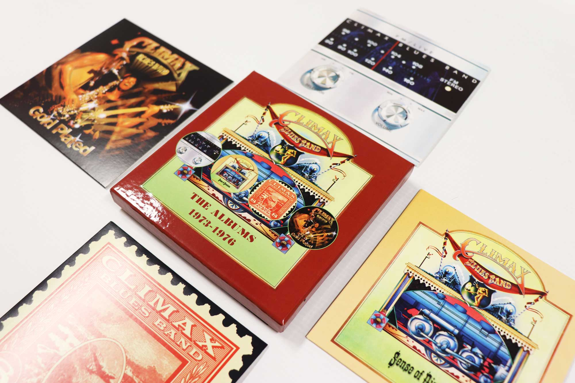 Climax Blues Band: The Albums 1973-1976, 4CD Remastered Boxset Edition