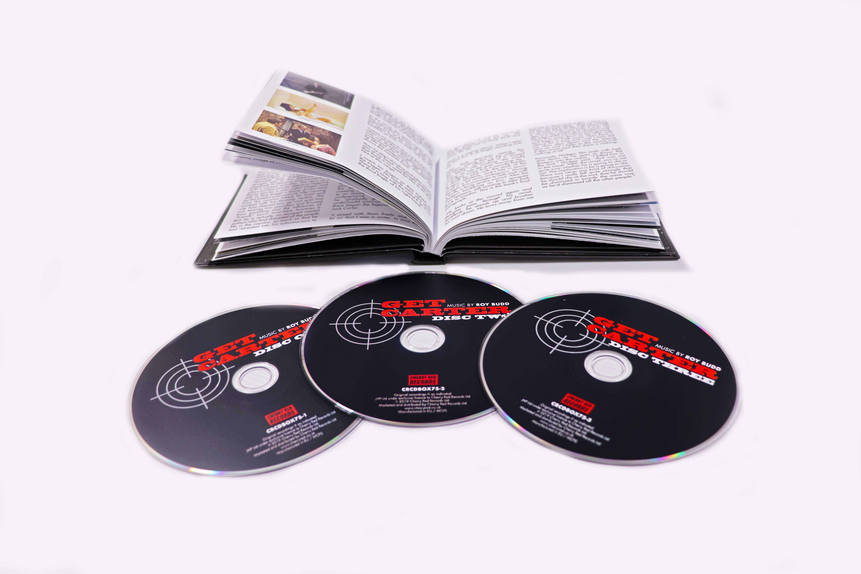 Get Carter - The Original Soundtrack - 3CD Deluxe Hardback Book Edition