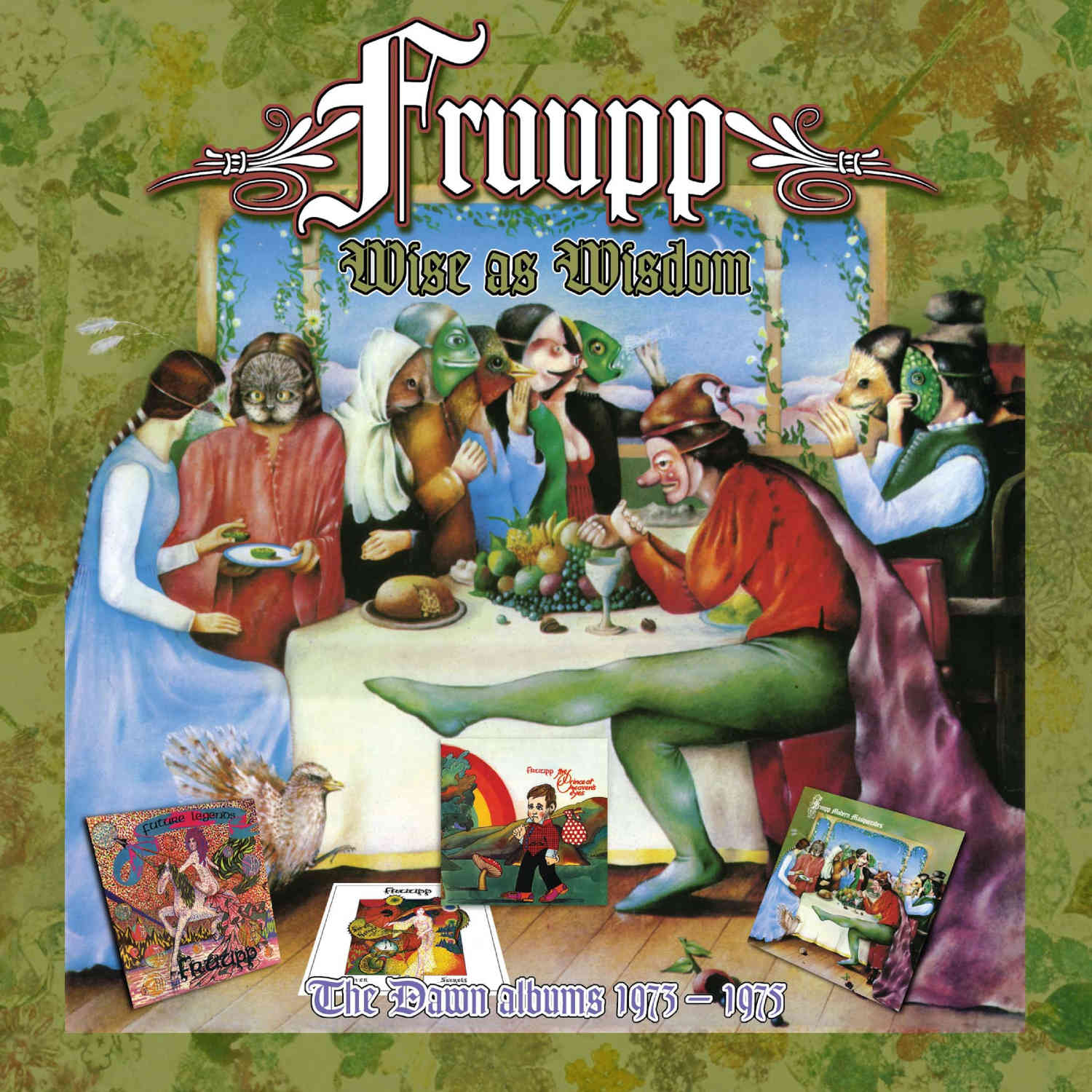 Fruupp: Wise As Wisdom: The Dawn Albums 1973-1975, 4CD Re-Mastered  Clamshell Box Set