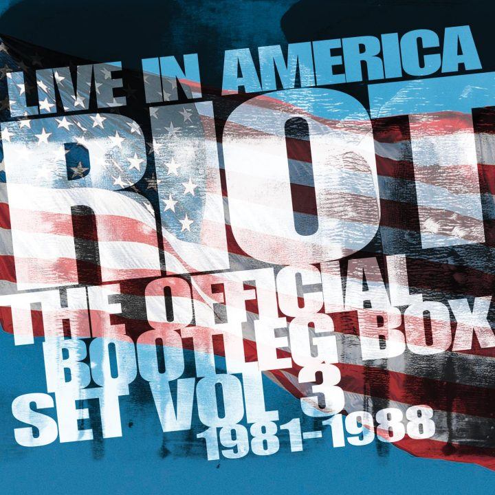 Riot: Live In America - The Official Bootleg Box Set Vol  3 1981-1988 - 6CD  Box Set