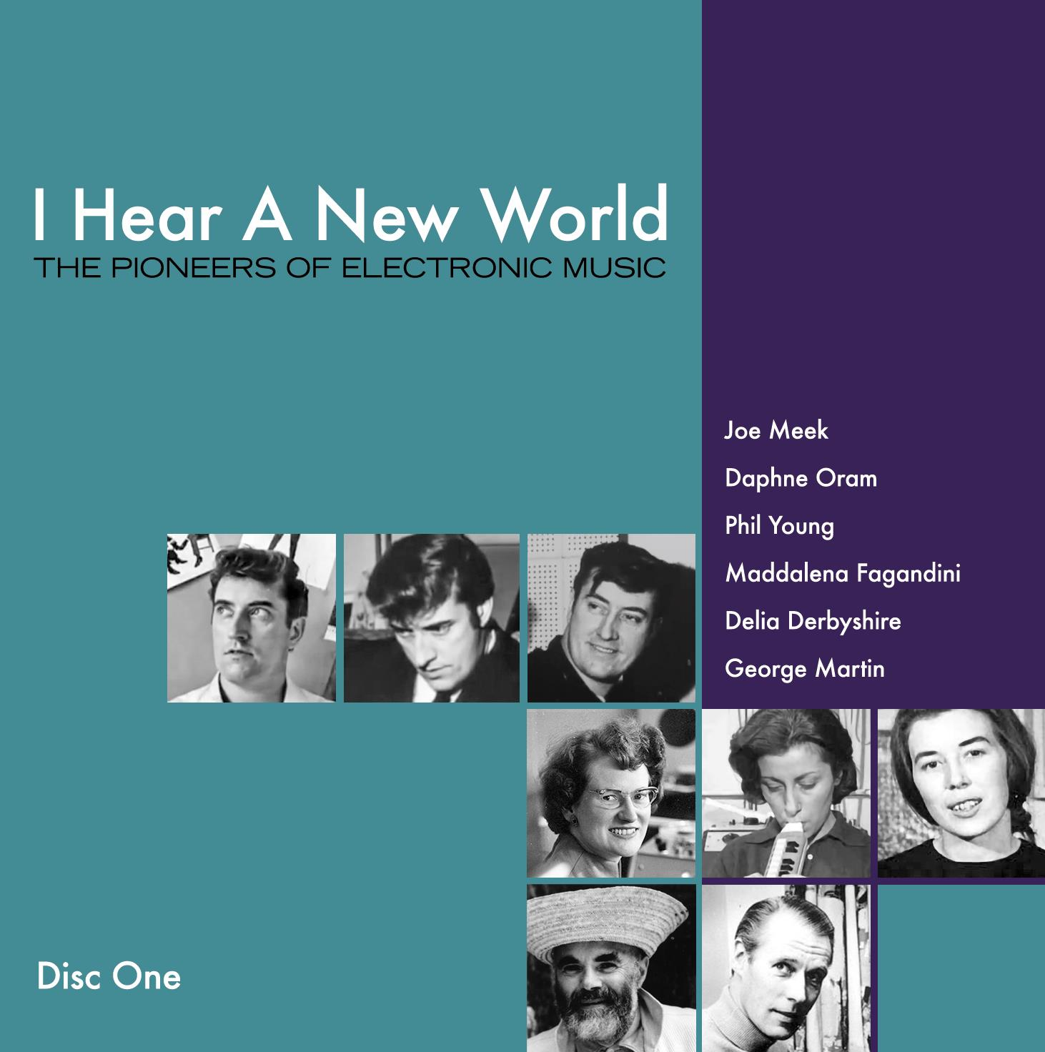 I Hear A New World - The Pioneers of Electronic Music, An Outer Space Music  Fantasy By Joe Meek, Various Artists, 3CD Boxset