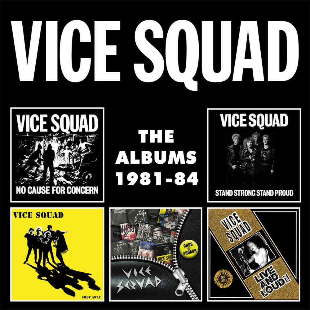Vice Squad The Albums 1981 84 5cd Boxset