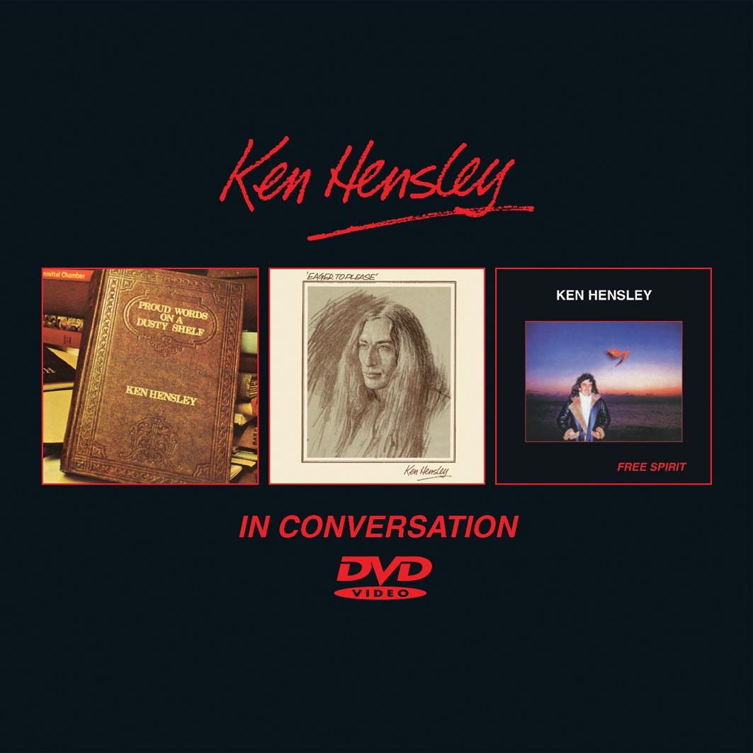 Ken Hensley The Bronze Years 1973 1981 3cd 1dvd Boxset Cherry Red Records