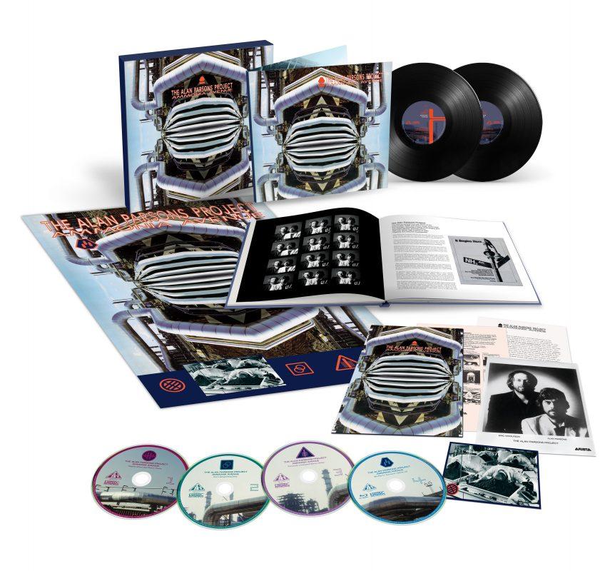 The Alan Parsons Project Ammonia Avenue 3cd 1 Blu Ray