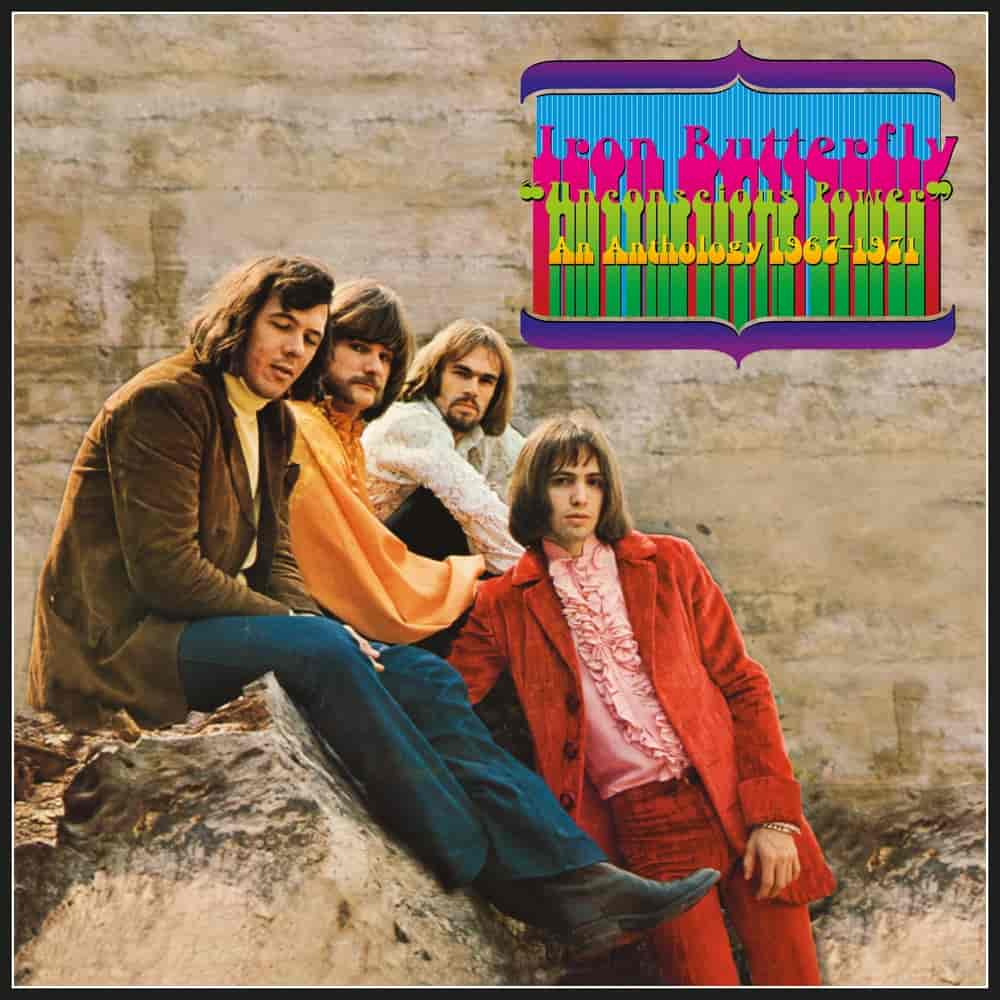 Iron Butterfly: Unconscious Power - An Anthology 1967-1971, 7CD Remastered Box Set - Cherry Red Records